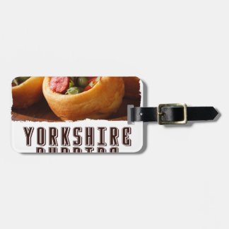3rd February - Yorkshire Pudding Day Luggage Tag