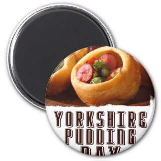 3rd February - Yorkshire Pudding Day Magnet