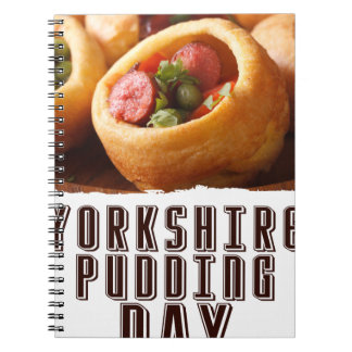 3rd February - Yorkshire Pudding Day Notebook