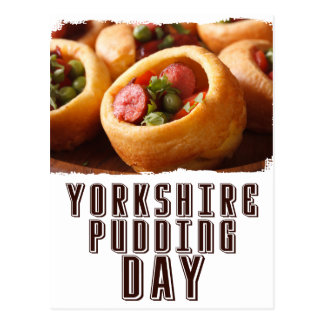 3rd February - Yorkshire Pudding Day Postcard