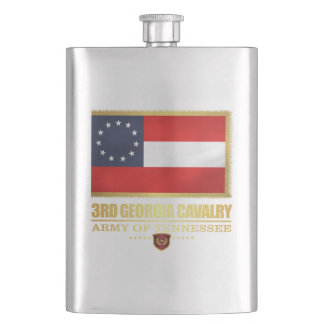 3rd Georgia Cavalry (F10) Hip Flask