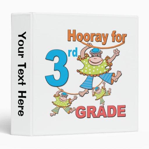 3rd Grade 3 Ring Binder