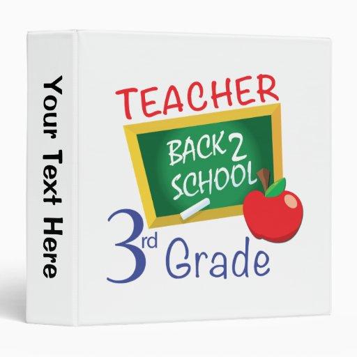3rd Grade Teacher Binder