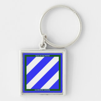 3rd Infantry Division Keychain