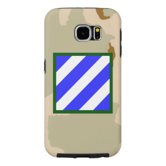 "3rd Infantry Division ""Rock of the Marne"" Camo Samsung Galaxy S6 Cases"