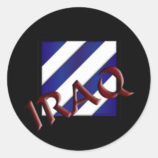 3rd Infantry Division Round Sticker
