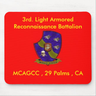 3rd. Light Armored Reconnaissance Battalion Mouse Pad