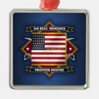 3rd Minnesota Volunteer Infantry Metal Ornament