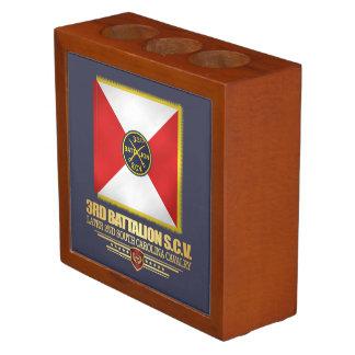 3rd SCV Cavalry Battalion Desk Organizer