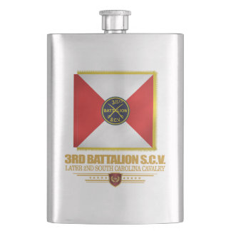 3rd SCV Cavalry Battalion Flasks