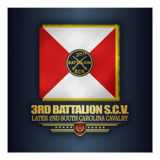 3rd SCV Cavalry Battalion Poster