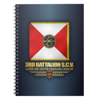 3rd SCV Cavalry Battalion Spiral Note Book