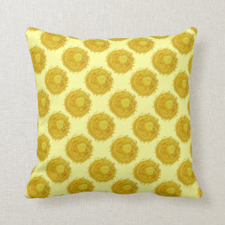 3rd-solar plexus chakra balancing artwork #1 throw pillow