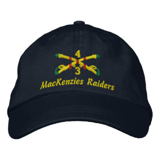 3rd Sqdn 4th Cavalry Embroidered Hat