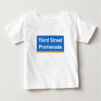 3rd Street, Los Angeles, CA Street Sign Baby T-Shirt