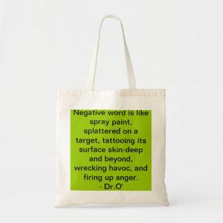 3Sqmeals # 257 Budget Tote Bags