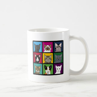 3x3 cats coffee mug