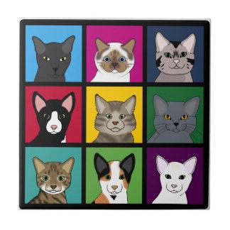 3x3 cats tile