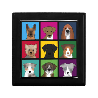 3x3 of dogs gift box