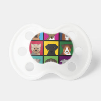 3x3 of dogs pacifier