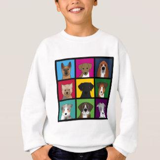 3x3 of dogs sweatshirt