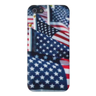 400 flags waving proudly in a field case for the iPhone 5
