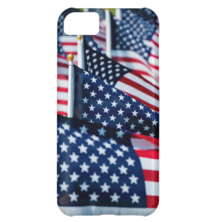 400 flags waving proudly in a field iPhone 5C case
