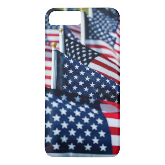 400 flags waving proudly in a field iPhone 7 plus case