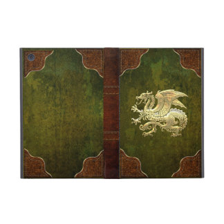 [400] Icelandic Dragon, Landvættir [Gold] Case For iPad Mini