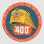 "400 ~ ""The Train That Sets The Pace"" Sticker"