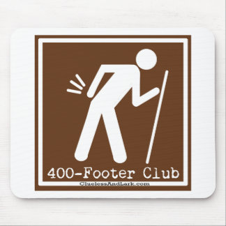 400footer Club Hiking Gear Mouse Pad
