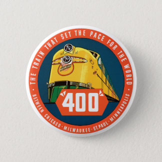 400Train 2 Inch Round Button