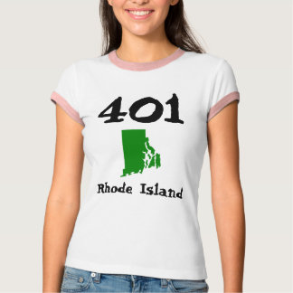 401, Area Code of Rhode Island T-Shirt