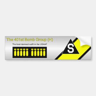 401st Bomb Group Bumper Sticker
