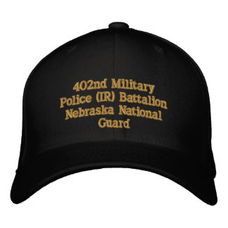 402nd Military Police Bn. Embroidered Hat