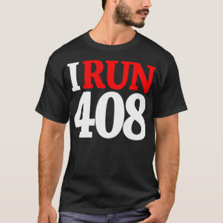 408 SHIRT/WHT-RED T-Shirt