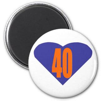 40 2 INCH ROUND MAGNET