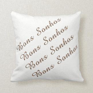 40,6 cm almofada 40,6 cm x - Good dreams Throw Pillow