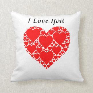 40,6 cm - Designer I Love You almofada 40,6 cm x Throw Pillow