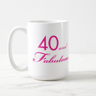 40 and Fabulous Mug #2