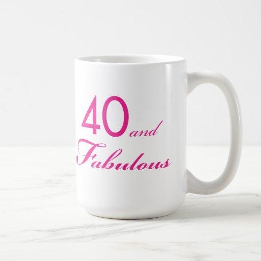 40 and Fabulous Mug #2
