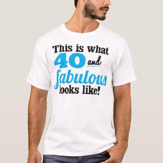 40 and Fabulous T-Shirt