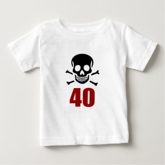 40 Birthday Designs Baby T-Shirt