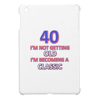 40 birthday designs iPad mini cases