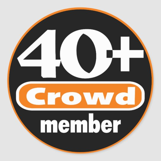 40+ Crowd Stickers