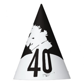 40 for a 40th Birthday Party Hat