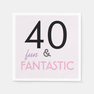 40 Fun and Fantastic Birthday Party Paper Napkin