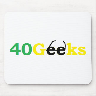 40 Geeks Stuff Mouse Pad