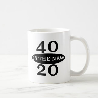 40 Is The New 20 Coffee Mug