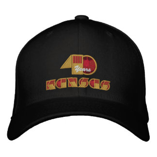 40 Year Anniversary Logo Embroidered Baseball Cap